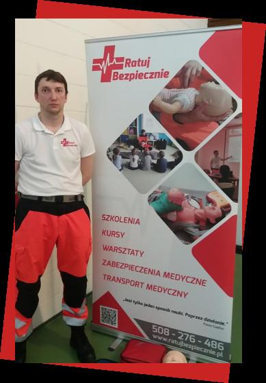 Ratuj bezpiecznie - szkolenia, kursy, warsztaty z pierwszej pomocy